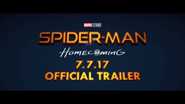 It's time to suit up. Watch the official #SpiderManHomecoming trailer now and see the movie in theaters July 7! https://t.co/pdBcldQhrP