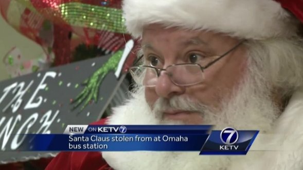 Omaha police looking for Christmas crook