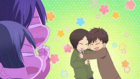 【私がモテてどうすんだ】第10話 感想 しぇんぱいが本気に…?:あにこ便 #anime_watamote