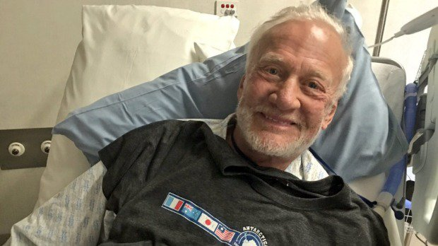 Buzz Aldrin leaves New Zealand after an unexpected stay in Christchurch Hospital