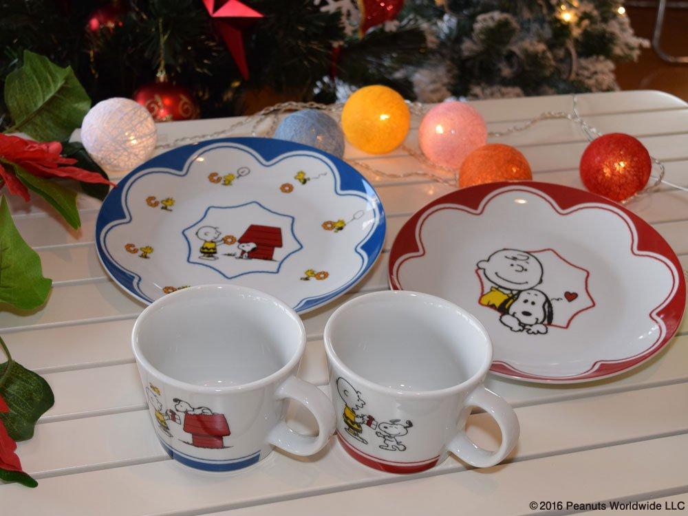「misdo SNOOPY クリスマスパーティーセット」でスヌーピーと一緒にクリスマスパーティー🎄🎁🍩かわいいプレートと