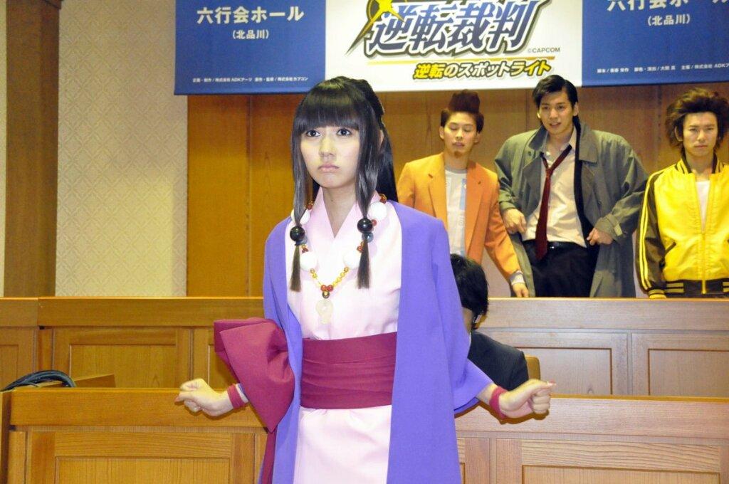 無知ぼく『成宮なにがしってどちらさん』 ↓>映画>逆転裁判(2012年2月11日) - 成歩堂龍一 役