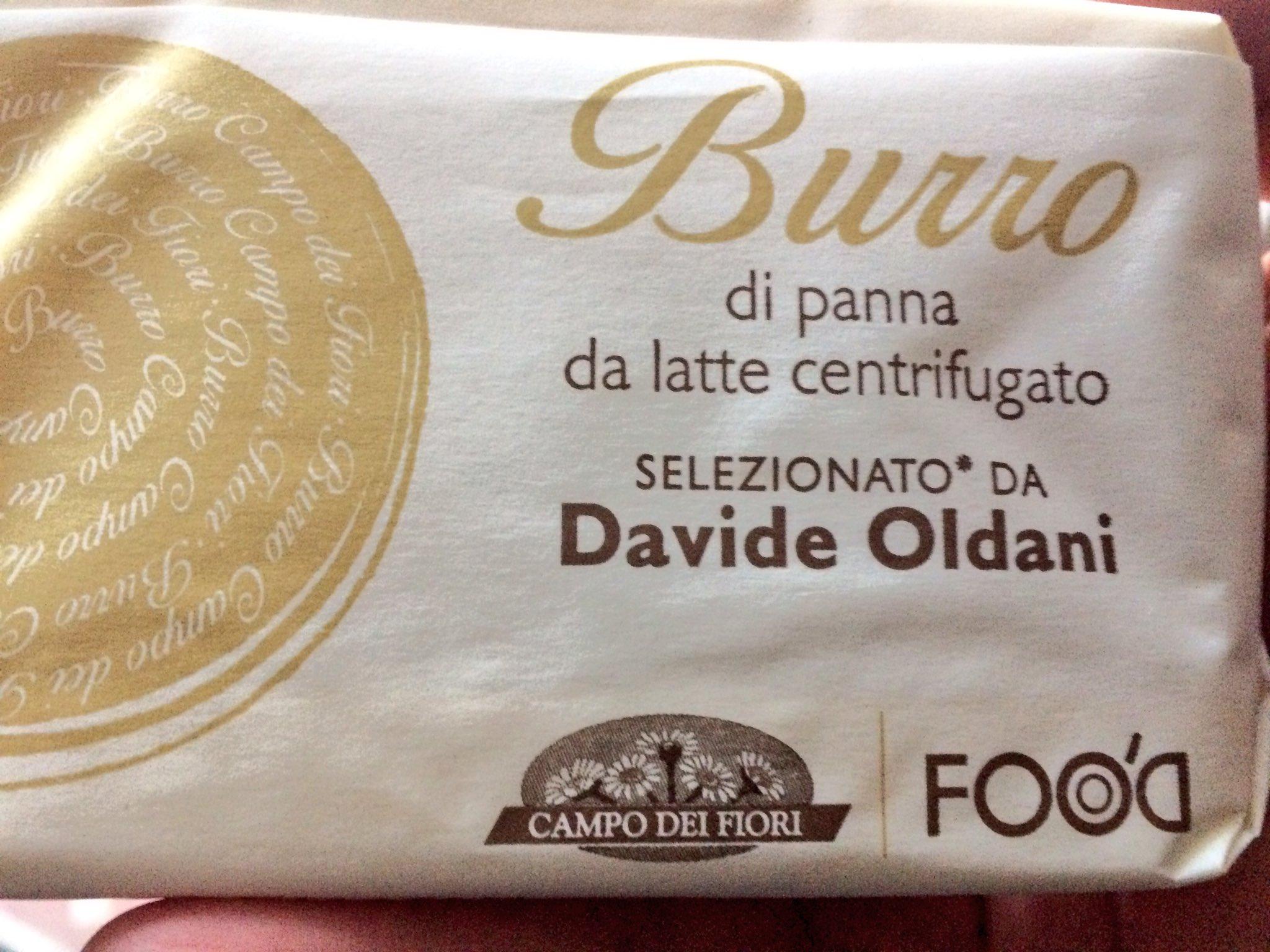 Fra il burro in circolazione questo di @DAVIDEOLDANIDO è davvero uno dei migliori. E si trova pure al supermercato! https://t.co/rnyPk3oYYK