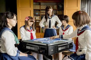 森先生が脚本の咲-Saki-を観た。アニメもハマったけど、ドラマも中々楽しめそう!