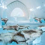Inside the world's first permanent frozen hotel