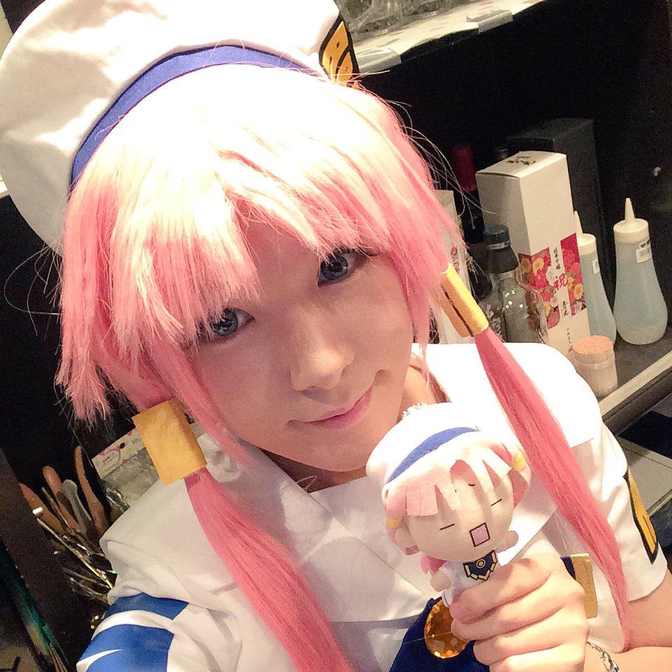 こんばんは( ´ ▽ ` )ノあおい合流です!!ARIAの灯里ちゃん♡今日はシングルの時の髪型です٩( 'ω' )و嬉し