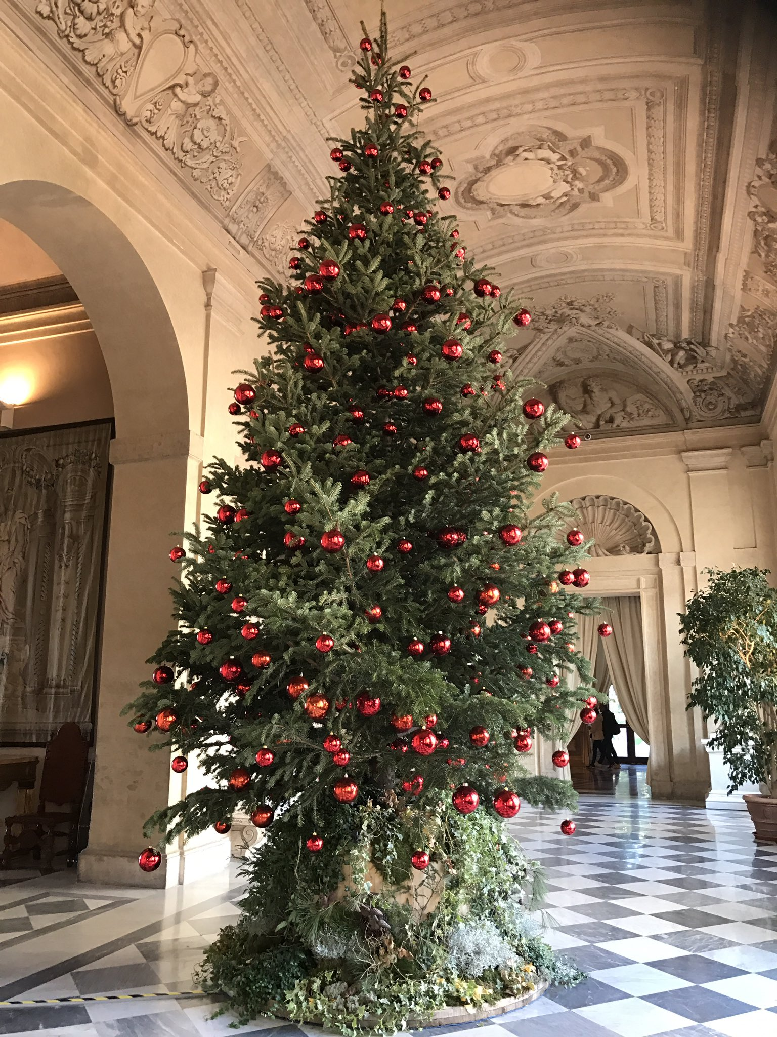 Qui #Quirinale: #Natale nonostante la crisi di governo 🎄🎄🎄❤️ https://t.co/xugQjW2bfp