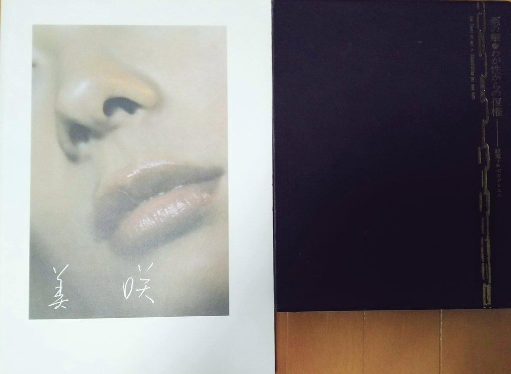 先日の東京〜名古屋て買った本①:伊東美咲写真集『美咲』、緑魔子『悪の華・わが性からの復権』