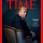 Capa da 'Time' com Trump vira motivo de piada na TV americana