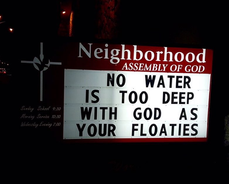 Church sign of the day... h/t @iamjakz https://t.co/6B4GSzoYMT