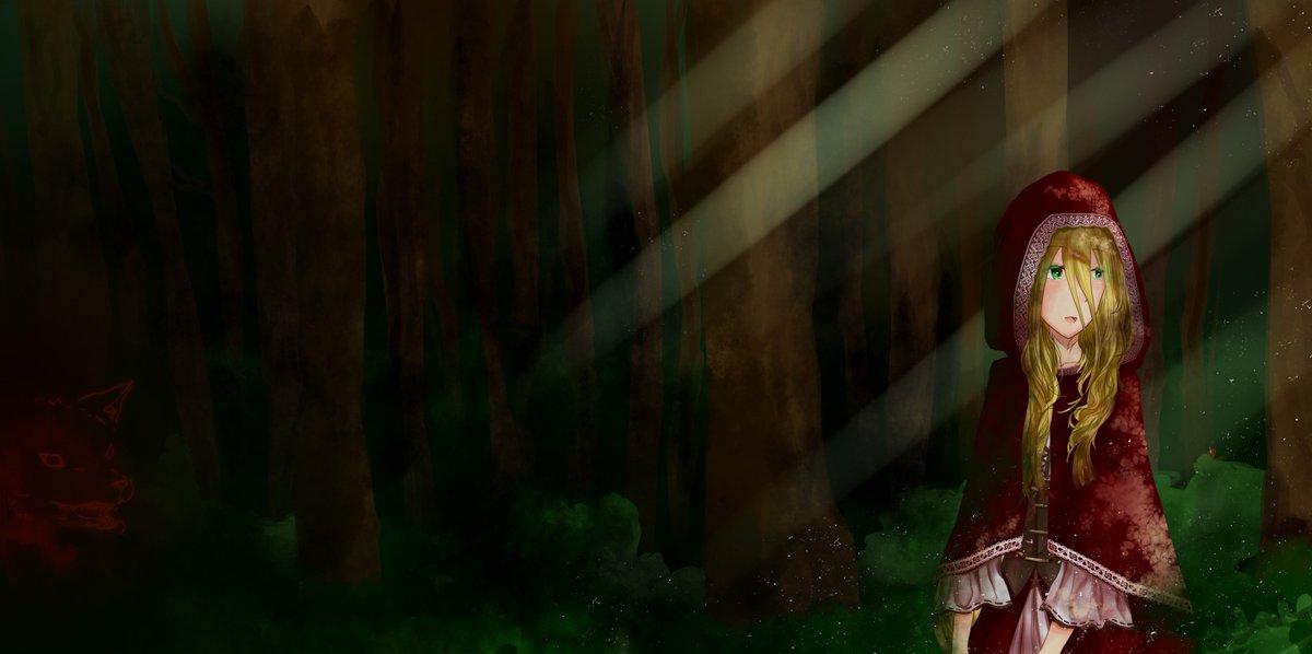 [レムス赤ずきん]  Commission for ! o(≧∇≦o)#レムス #赤ずきん #アカメが斬る零 #アカメが