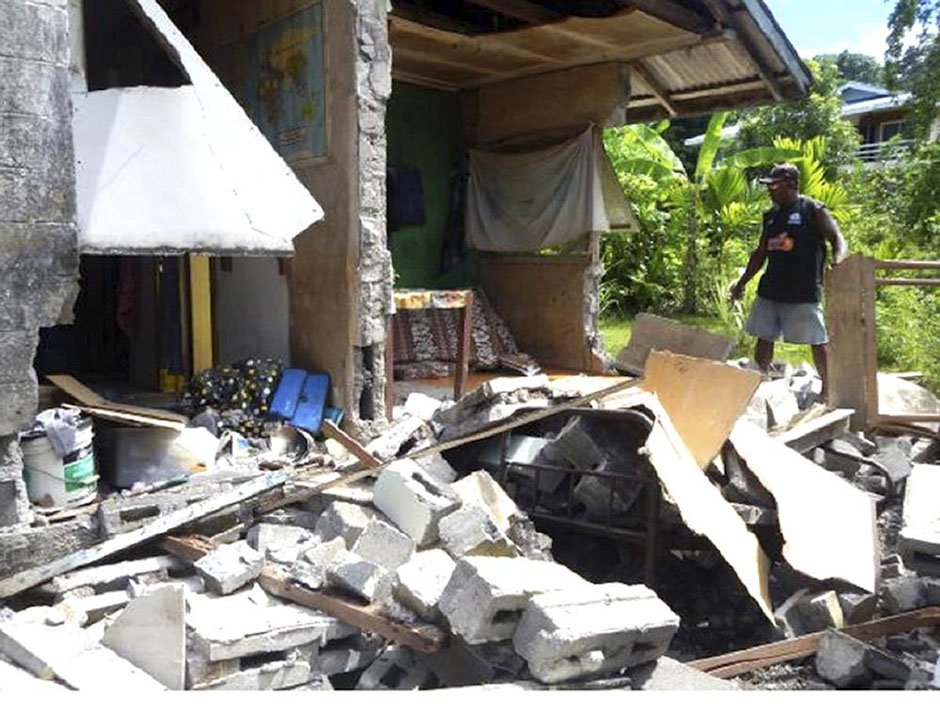'People just panicked': 3,000 affected by earthquake in Solomon Islands, initial reports say