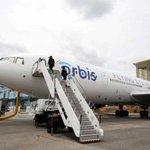 """Flying eye hospital"" Orbis makes stop in Singapore"