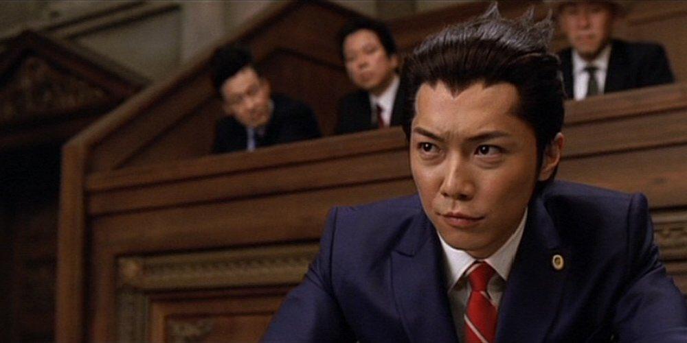 成宮君、、逆転裁判熱演してたな。主題歌が2012Spark