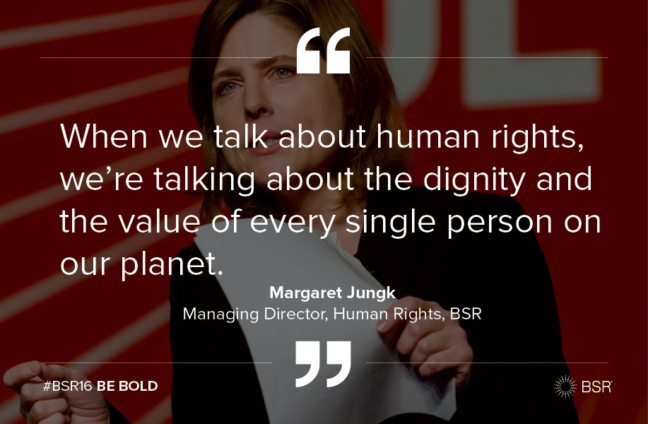 On #HumanRightsDay, a reminder on why we do what we do from BSR's Margaret Jungk. #bizhumanrights https://t.co/UkfMF2SvuG