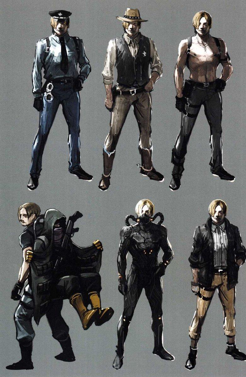 Resident evil revelations 2 alternate costumes