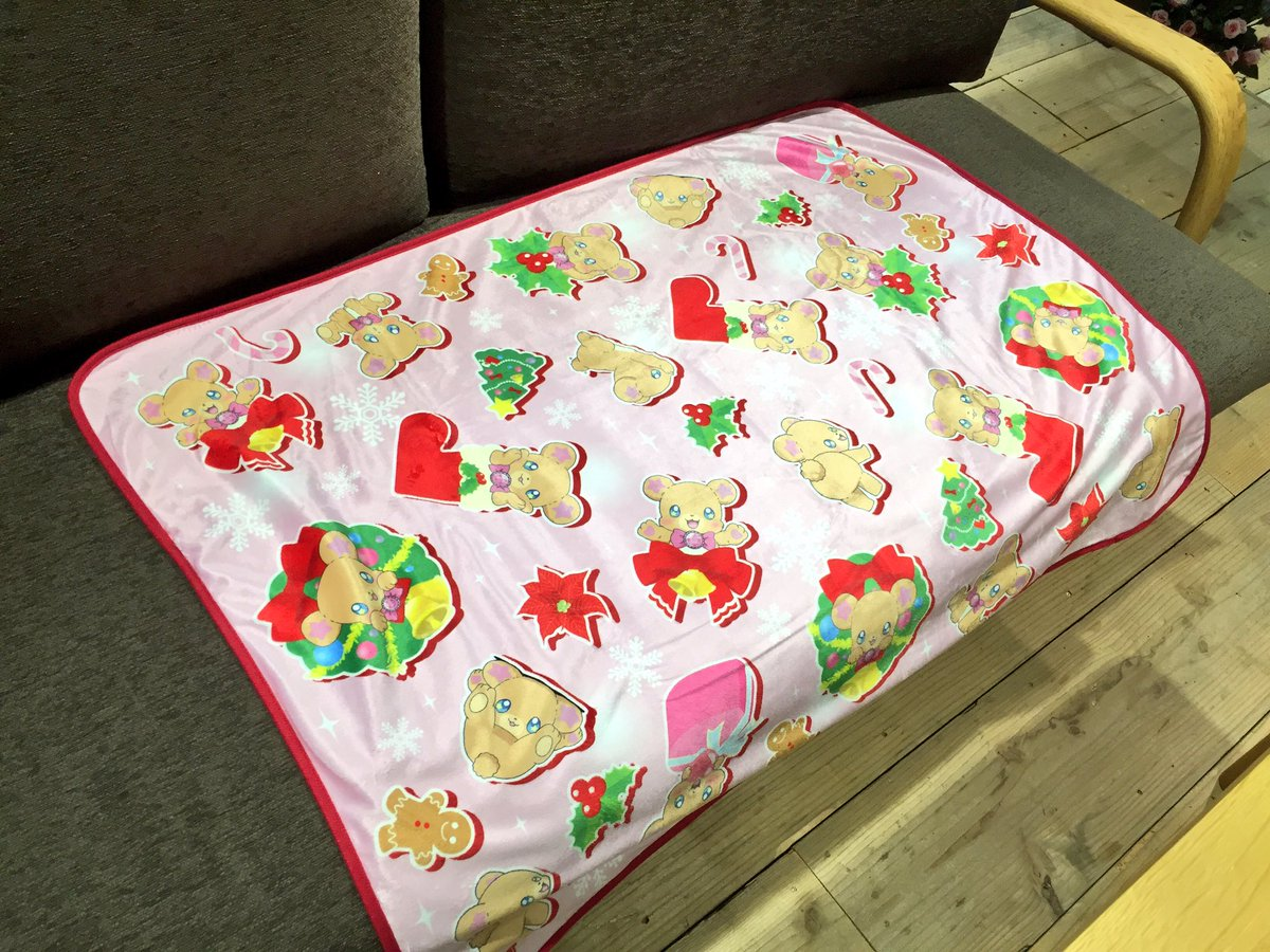 【新商品】#プリティストア で本日からモフルンのクリスマスグッズが販売開始だよ❤️ふわふわなモフルンのもふも〜ふとモフル