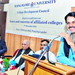 Bharatlal Meena favours assessing college lecturers