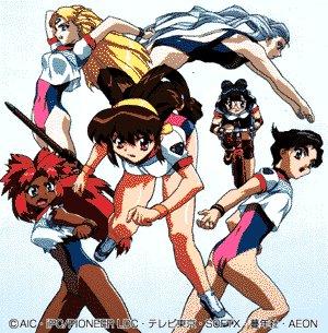 『バトルアスリーテス 大運動会』は今で言うと『競女!!!!!!!!』みたいなアニメです #aniaca