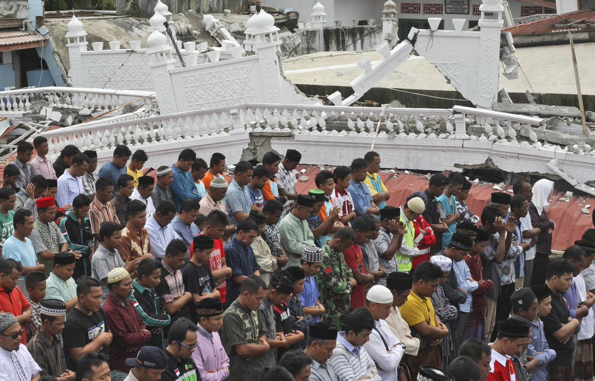 At least 45,000 displaced after earthquake in Indonesia