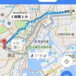 ST☆RISHの皆さんがどこから走ってきたのは分かりませんが、ちなみに錦糸町からテレ朝までは、約10キロです。#utap