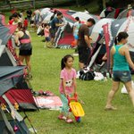 Fifty families celebrate Christmas with an overnight camp