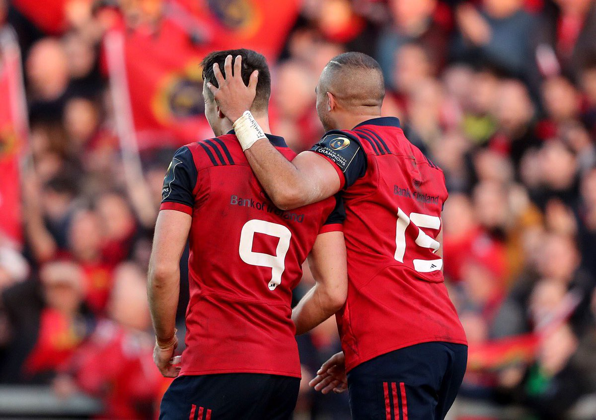 Ben Youngs is off & they said this would be a contest for the @lionsofficial. Murray is nailed on #munsterrising https://t.co/F9nvyGOy5O