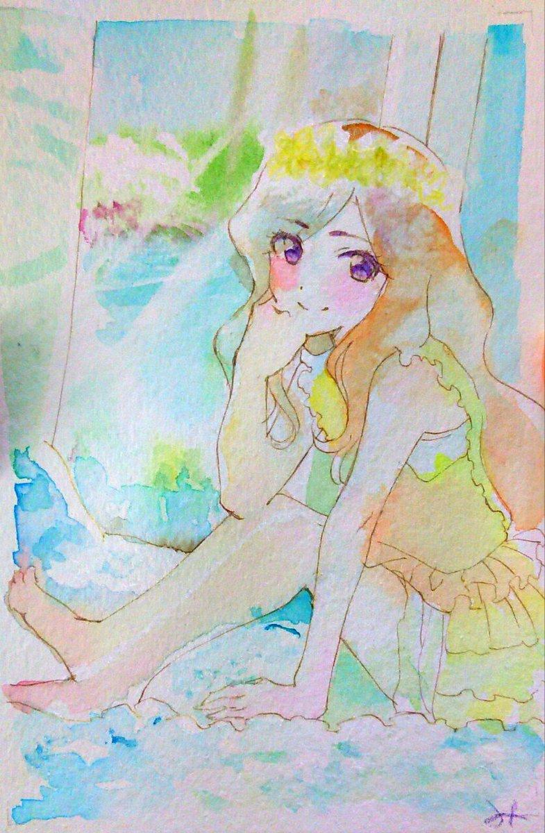 昨日と同じ雑誌の模写。夜空さん #aikatsu