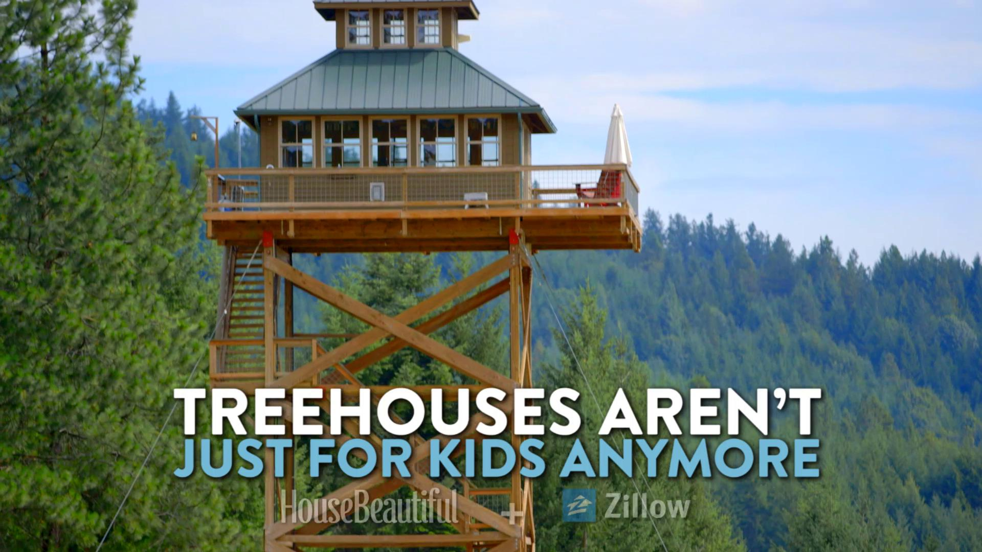 Treehouses Aren't Just For Kids Anymore! https://t.co/phugoiSLow