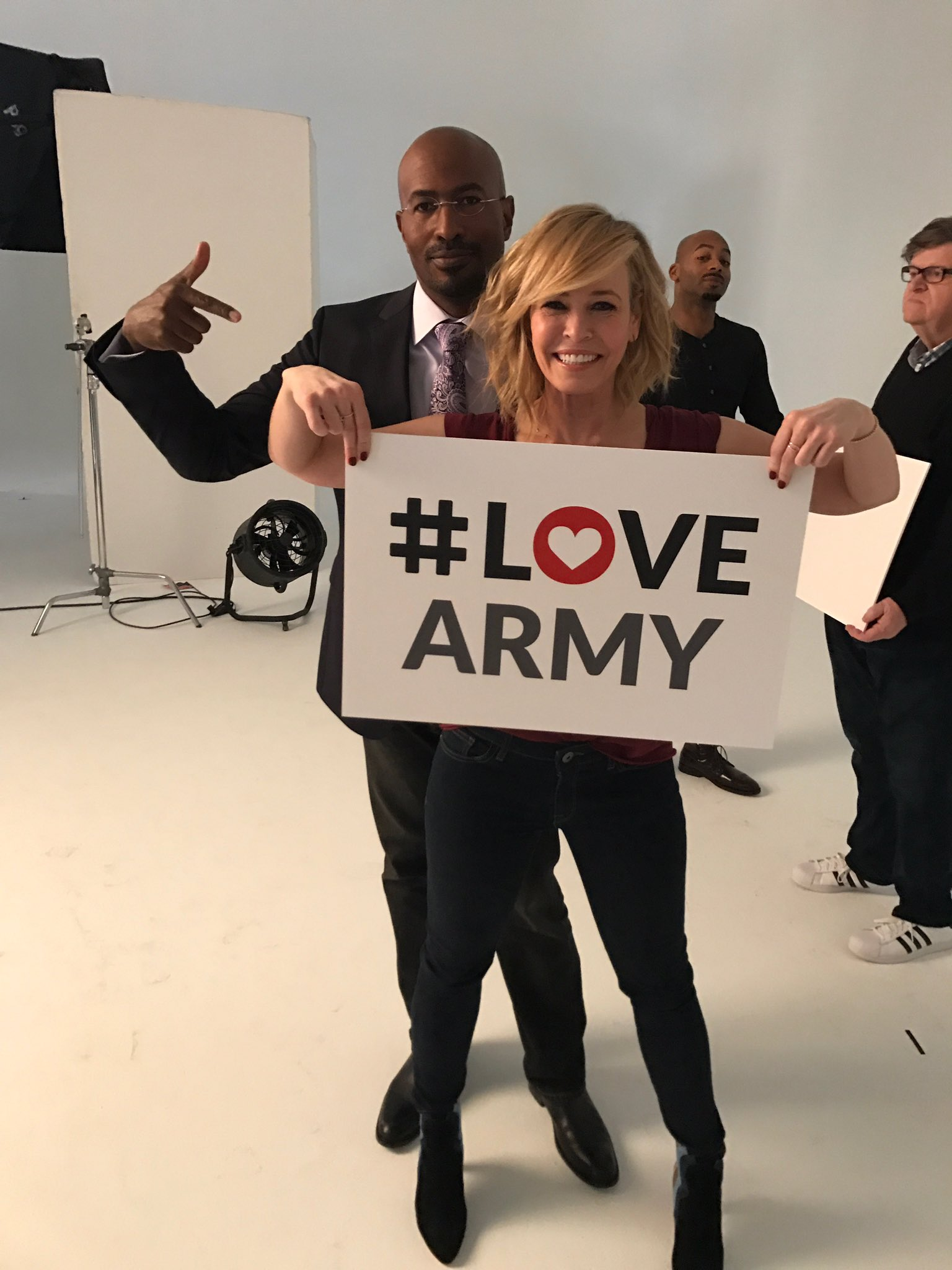 You can got to https://t.co/ANkWe1y50V to register to be part of the love army @VanJones68 I just signed up. https://t.co/S3tqwbU3tf
