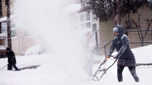 Winter weather woes spread across Canada