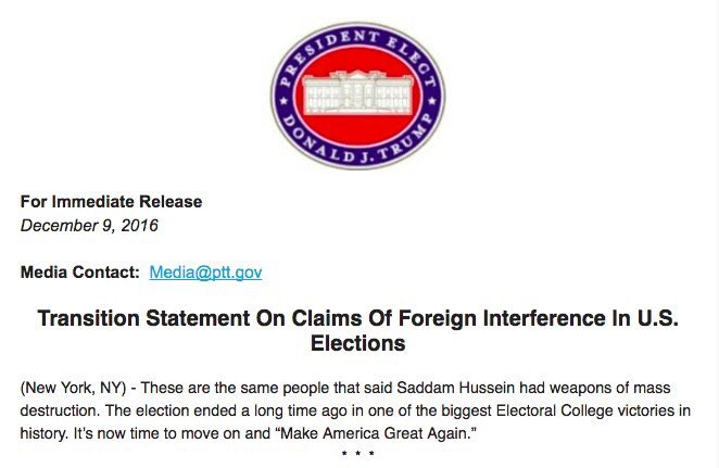 The intel didn't state that Iraq had WMDs. The Bush-Cheney WH made that misrepresentation. https://t.co/T6Sx3vXt92