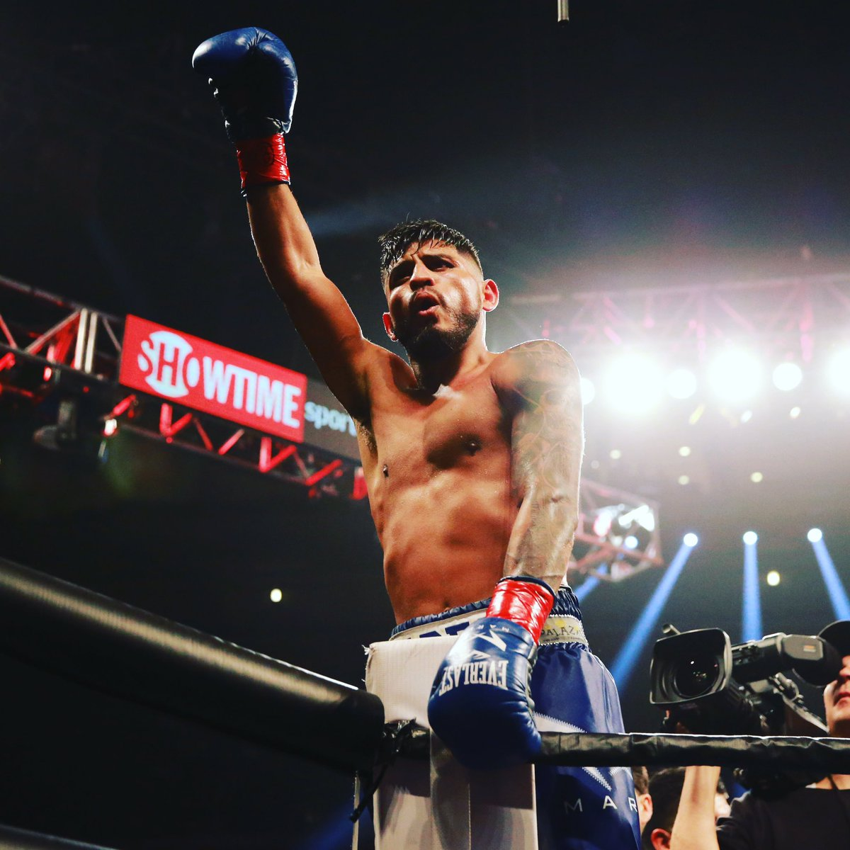 #AndTheNew #4xWorldChamp Thank you to #TeamMares and all who supported me. Ready for whoever is next.