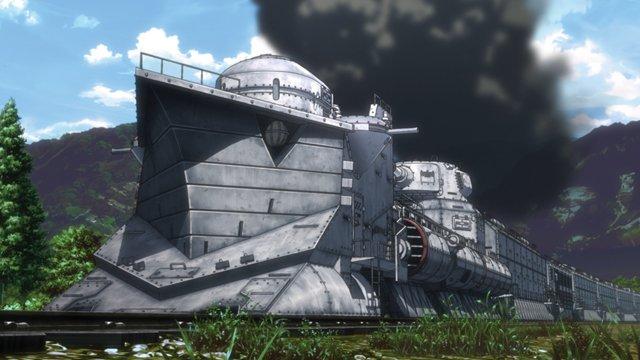シロクニが選ぶアニメ鉄大賞20161位 甲鉄城 (甲鉄城のカバネリ)2位 機動強襲指揮車両 (アクティヴレイド)3位 デ