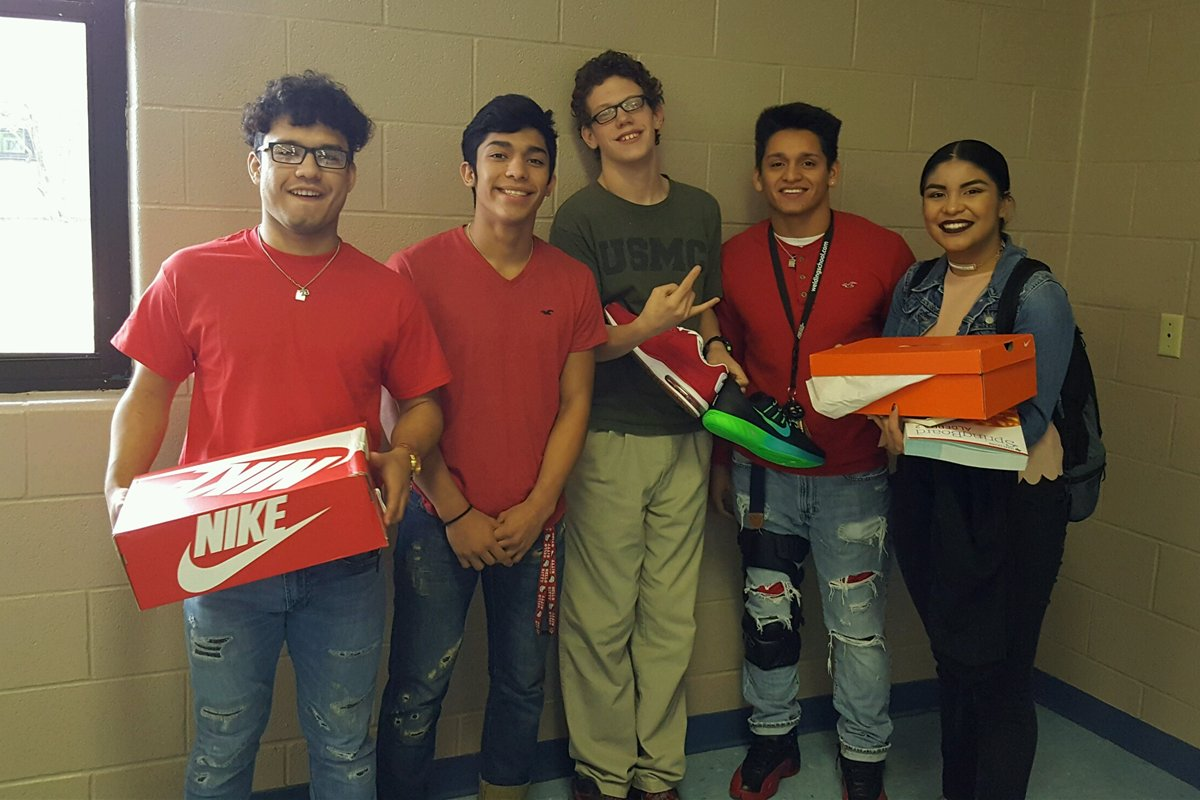 Teens band together to buy special-needs classmate new shoes