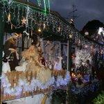 Neighbourhood Christmas wonderland restored after little boy's plea