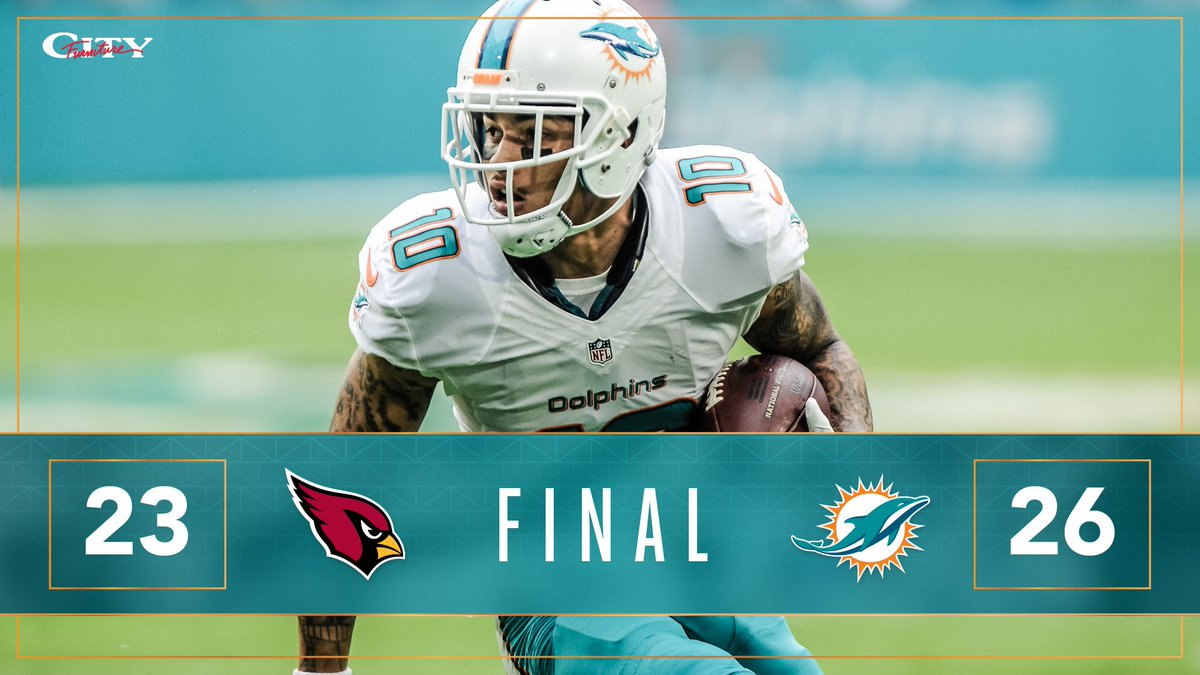 RT @MiamiDolphins: BALL GAME!!!!   #FinsUp https://t.co/BX90PJfjzY
