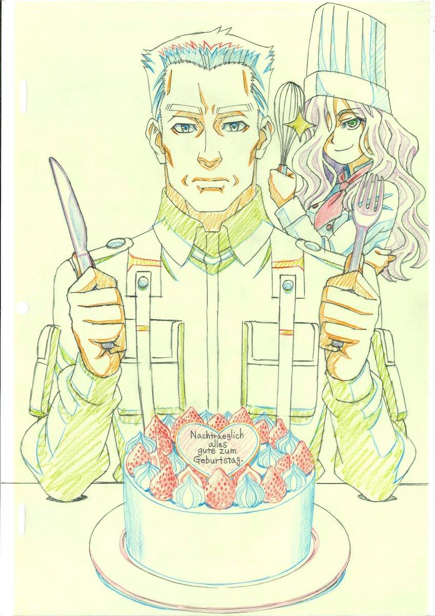 そしてベア様誕生日の前日11月22日はヴァルターの誕生日なのですが、恐らく誰もお祝いしないのではと思ったのでヴァルターお