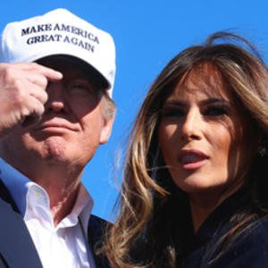 Melania Trump appears in court for her lawsuit