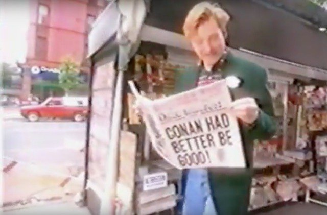 A bunch of Conan O'Brien's 'Late Night' episodes from the '90s are now on YouTube https://t.co/A0uvIDr7cP https://t.co/tPVurgS1eV