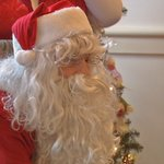 Santa visits Cochran Elementary students at University Club