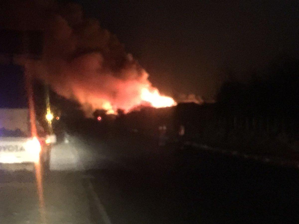 Se incendia restaurante que iba a ser inaugurado