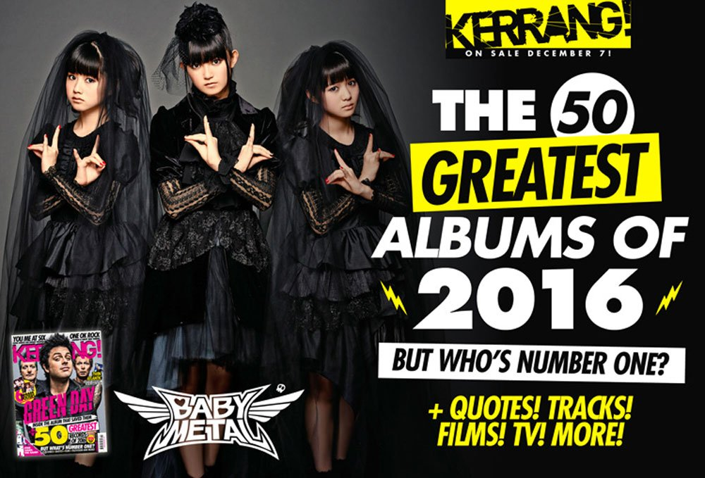 Find out where @BABYMETAL_JAPAN came in our albums of 2016! https;//t.co/qnPYtlI2C9 https;//t.co/...