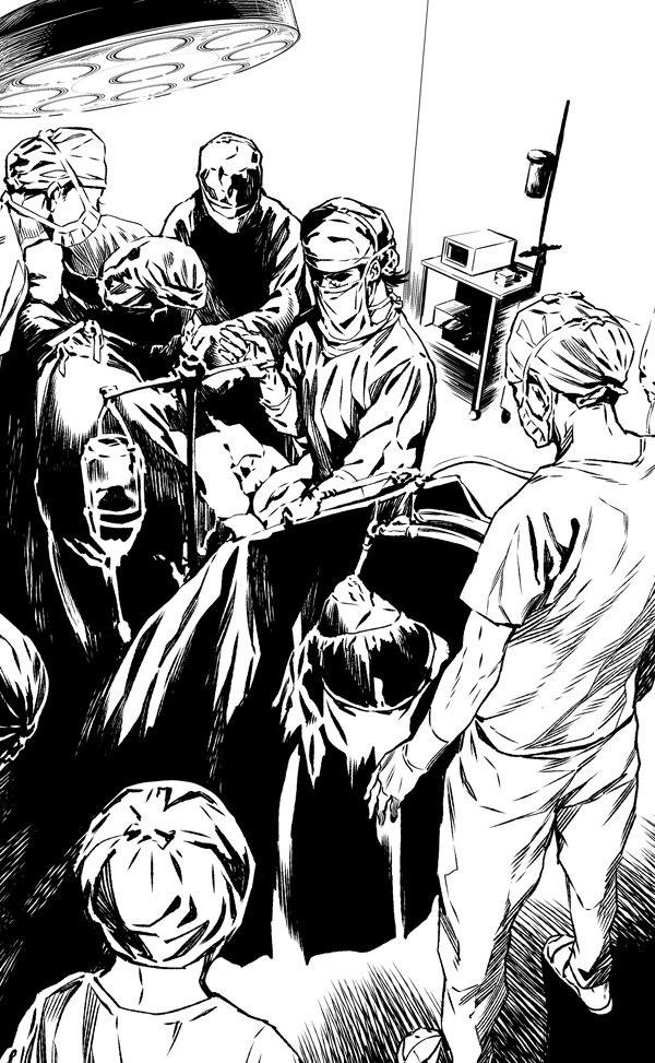 本日はヤングチャンピオン発売日です。ヤングブラックジャック106話掲載されています。「選らばるる者」編完結です!そして次