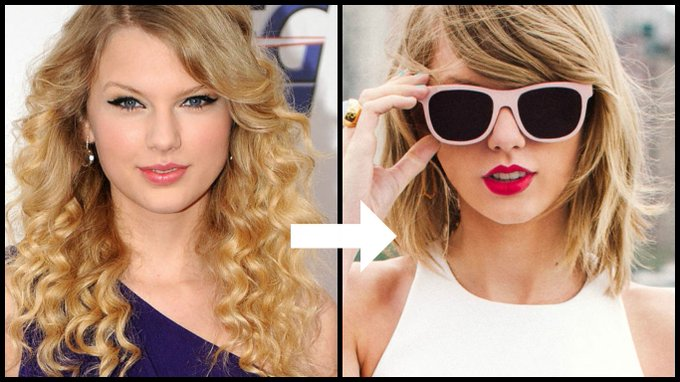 Happy b day taylorswift13! Here s how her looks have changed in 10 years
