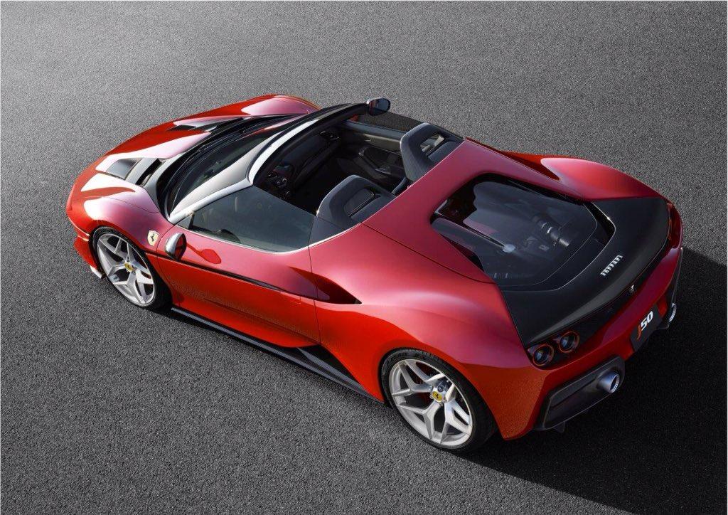 "Stunning new ""Fuori Serie"" J50 to celebrate Ferrari's 50th Anniversary in Japan. https://t.co/lbj57k4JcV"