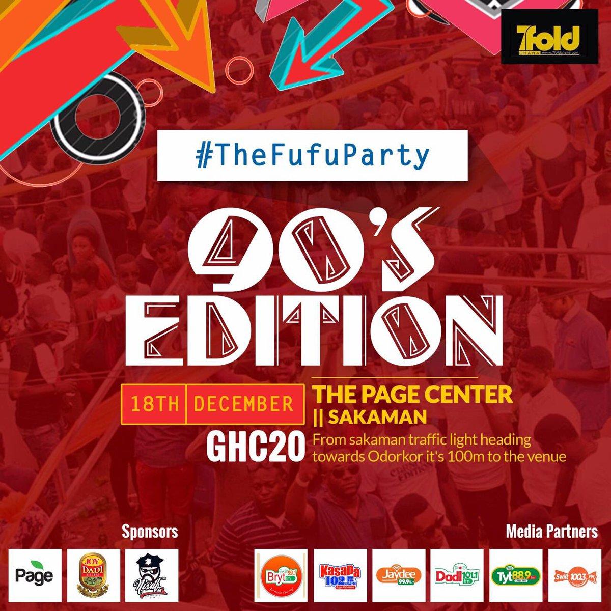 @7foldghana #TheFuFuParty @7foldghana #TheFuFuParty @7foldghana #TheFuFuParty Sunday @ Page Event (Sakaman) https://t.co/cHlGu4OIZu