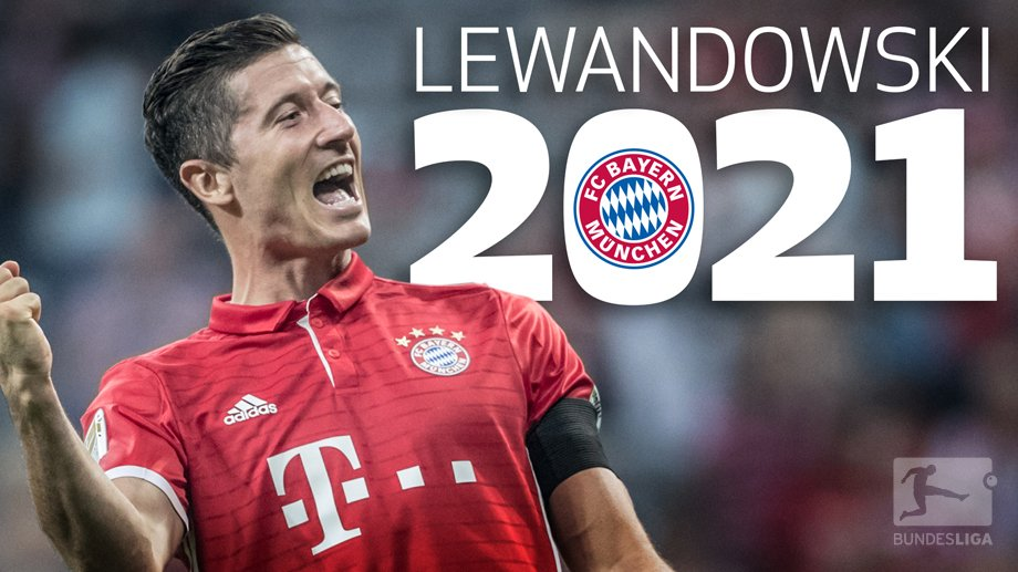 BREAKING! @lewy_official signs contract extension with @FCBayernEN🔴 until 2021! He's scored 58 #Bundesliga ⚽️ since joining in 2014. https://t.co/VGwJWExjpY