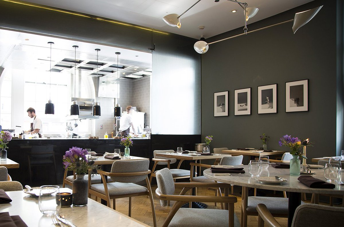 Typing Room London's Best Hotel Restaurants