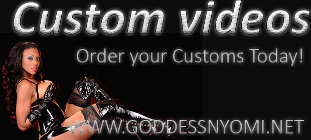 Order your personal video of Goddess Nyomi Humiliating You! Got to wHRwYRdQWF for details